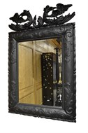 Image of Carved Irish Pine Mirror