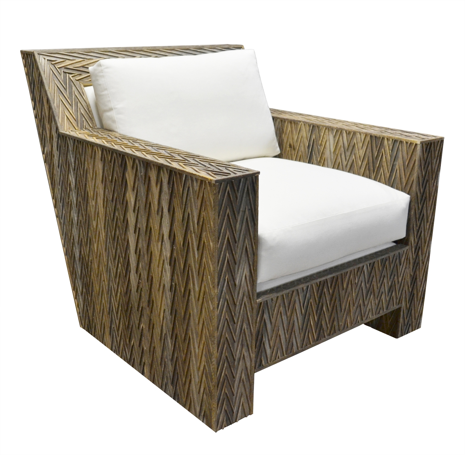 Chevron Lounge Chair