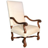 Image of 18th Century Walnut Fauteuil