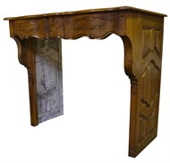 Image of French Fruitwood Mantle