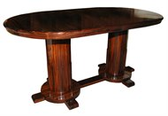 Image of French Art Deco Extension Table