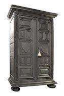 Image of FRENCH OAK ARMOIRE