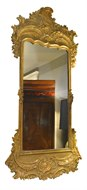 Image of Tall Gilt Mirror