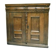 Image of Early Oak Cabinet