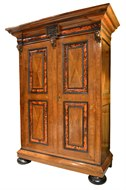 Image of Dutch Cabinet with Tortoise Shell