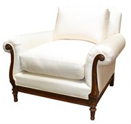Image of Adelphi Chair with Loose Back Pillow