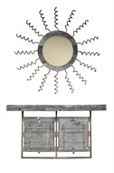 Image of Assemblage 1 Console and Mirror