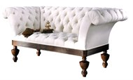 Image of Brighton Tufted Settee