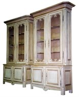 Image of French Inspired Old Timber Cabinets