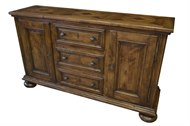 Image of Custom Parquet Top Buffet
