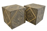 Image of Diamond Cube Side Tables