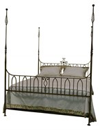Image of Queen Iron Bed by Erwin Gruen