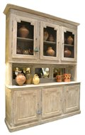Image of French Oak Buffet a Deux Corps