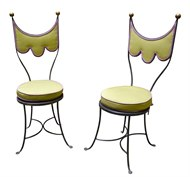 image of pair of decorative chairs by erwin gruen - Decorative Chairs