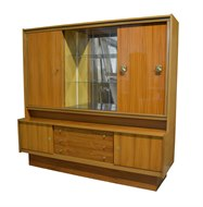 Image of Mid Century German Cabinet