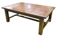 Image of Parquet Top Coffee Table