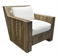 Image of Chevron Lounge Chair