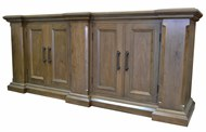 Image of Custom Walnut Buffet