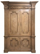 Image of Large Classical Pine Cabinet