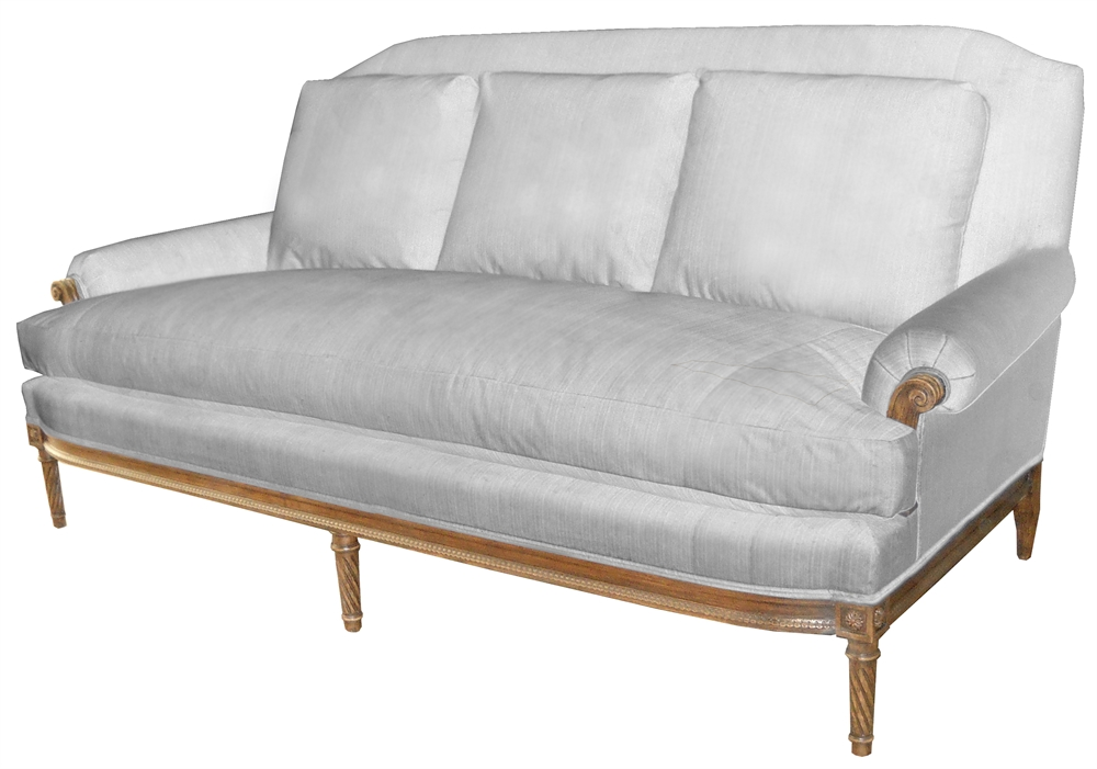 Product Details Lorraine Sofa With Loose Back Pillows