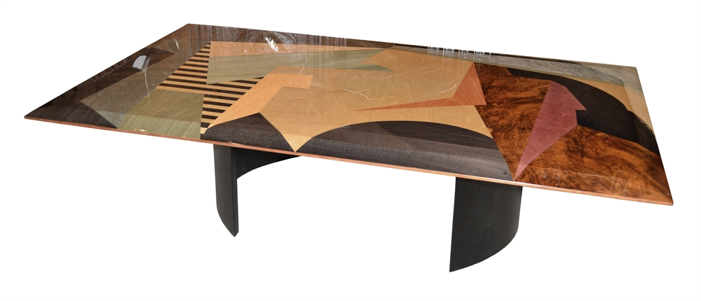 Mb 3112 Rectangular Multi Colored Coffee Table